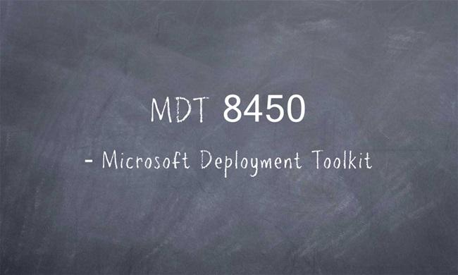 Czy warto zaktualizować Microsoft Deployment Toolkit 8450?