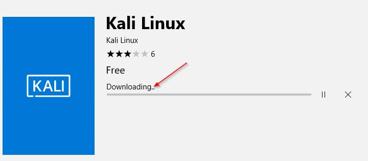 """Kali Linux"" pod Windows 10"